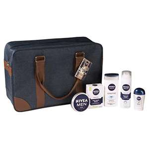 Nivea Men Weekender Gift Pack - £15.99 (Prime) / £20.74 (non Prime)  from Amazon!