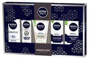 Nivea Men Sensitive Kit Gift Pack - £6.99 (Prime) / £11.74 Non Prime @ Amazon.co.uk