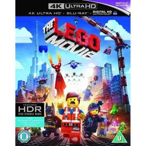 THE LEGO MOVIE (4K ULTRA HD + BLU-RAY + DIGITAL) £4.95 Delivered @ The Game Collection