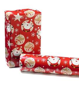Christmas Wrapping Paper ONLY 45p + £4.99 delivery at Studio