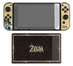 Zelda Skin Set and Screen Protector for Nintendo Switch £9.99 @ Game online (possibly instore but not showing any stock near me)
