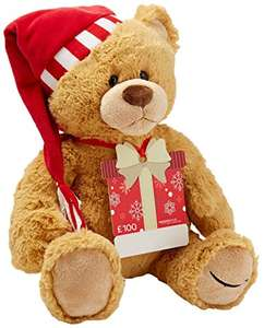 2017 Exclusive Limited Ed Amazon Annual Bear By GUND - Free With £100 Gift Card (Pre-Order Now - Released 4th Dec) Prime Members Only @ Amazon **One Per Customer**