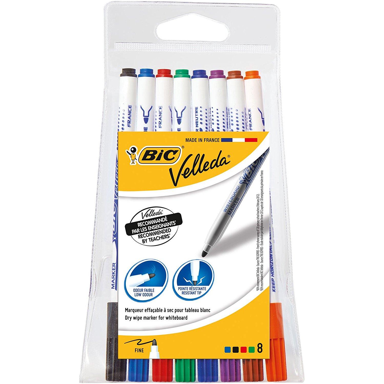 Bic - 8 Whiteboard Marker Pens @ Amazon - was £7.43 now £2.42 (Prime / £6.41 non Prime)
