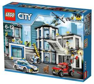 LEGO CITY Police Station 60141 less than half price £30 at Tesco instore. £25 with a coupon from Tesco magazine.