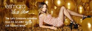 Esmara by Heidi Klum sequin dresses £14.99 in Lidl from 3rd December