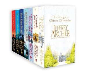 "Jeffrey Archer's ""The Clifton Chronicles"" Boxset (7 paperbacks) £19.99 delivered @ Amazon"