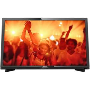 "Philips TV 22PFT4031 22"" TV (Full HD with Freeview HD tuner) £119 at ao.com"
