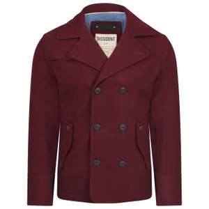 Various Men's Wool Coats - Tokyo Laundry - £25 Delivered!