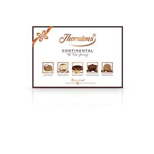Thorntons Continental Chocolate collection (Pack of 6) £27.49 Amazon