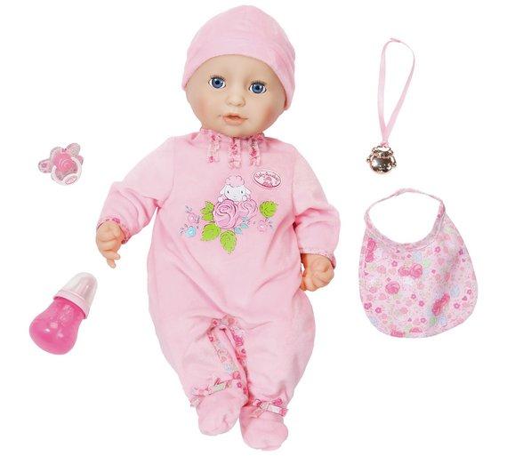 Baby Annabell Doll £29.99 @ argos.