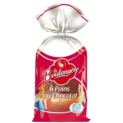 La Boulangere Pains au Chocolat 6 pack ONLY 99p @ B&M