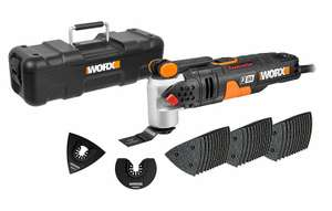 WORX WX681 F50 450W Sonicrafter Multi-Tool Oscillating Tool with 40 Accessories - £69.99 @ Amazon