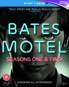 Bates Motel: Seasons 1 and 2 (Blu-Ray) £6.26 Delivered (Using Code) @ Zoom (£6.96 @ Amazon With Prime)