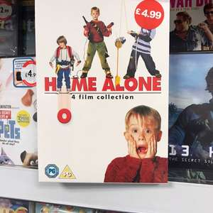 Home alone 1-4 DVD Collection - £4.99 in store @ home bargains