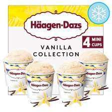 Haagen-Dazs collection minicups 4x 100ml £2.50 @Tesco