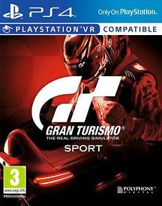 Gran turismo sport Ps4 £17.99 @ Shopto ebay