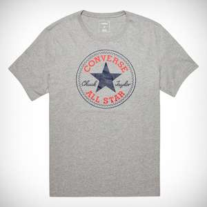 Men's Or Womens Chuck Patch Tee (Grey) - £7.49 delivered @ Converse