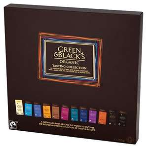 Green & Black's Organic Tasting Collection Boxed Chocolates, 395g - Contains 24 miniature bars - £5.50 on Amazon (Prime exclusive)