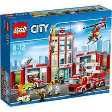 Lego City Fire Station 60110 at Tesco £39.59 potentially £34.59 with £5 off voucher in store.