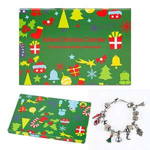 Pandora-like Charm bracelet advent calendar for kids - Only £21.99 Sold by Aoshien and Fulfilled by Amazon