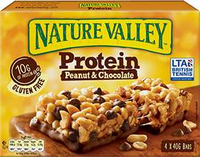Nature Valley Protein Peanut & Chocolate Bars 4 x 40g at Morrisons