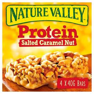 Nature Valley Protein Salted Caramel Bars 4 x 40g at Morrisons