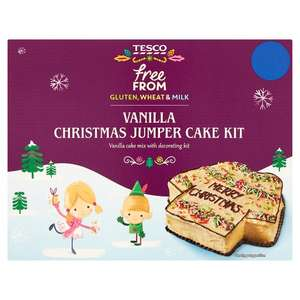 Tesco Free From Gluten, Wheat & Milk Chocolate Brownie Christmas Pudding Kit (was £3.50) Now £2.50 / 3D Gingerbread Star Kit (was £4) Now £3.00 and more