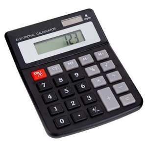 Solar Calculator at Poundland instore for £1
