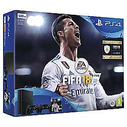 PS4 Slim + Fifa 18 + [Additional Controller or Gran Turisom] at Tesco for £229