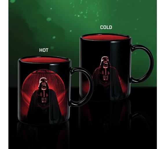 Star Wars Death Star Heat Changing Mug at Argos for £4.99