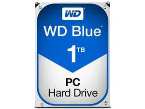 "Western Digital - WD Blue 1TB 2.5"" 5400RPM Internal Hard Drive at BT Shop for £38.02"