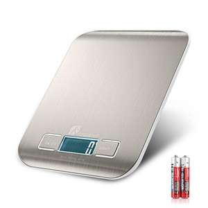 Houzetek Digital Kitchen Scales (5KG) - Stainless Steel for £5.33 delivered w/code @ Rosegal