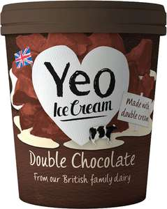 Yeo Valley Farm Organic Ice Cream Half Price £2.00 @ Sainsbury's