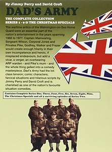 Dad's Army Complete Box set - Amazon Prime £13.50 (£15.49 non-Prime)