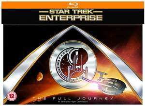 Used Star Trek Enterprise - The full Journey (blu-ray) at Cex £29.50 (including postage)