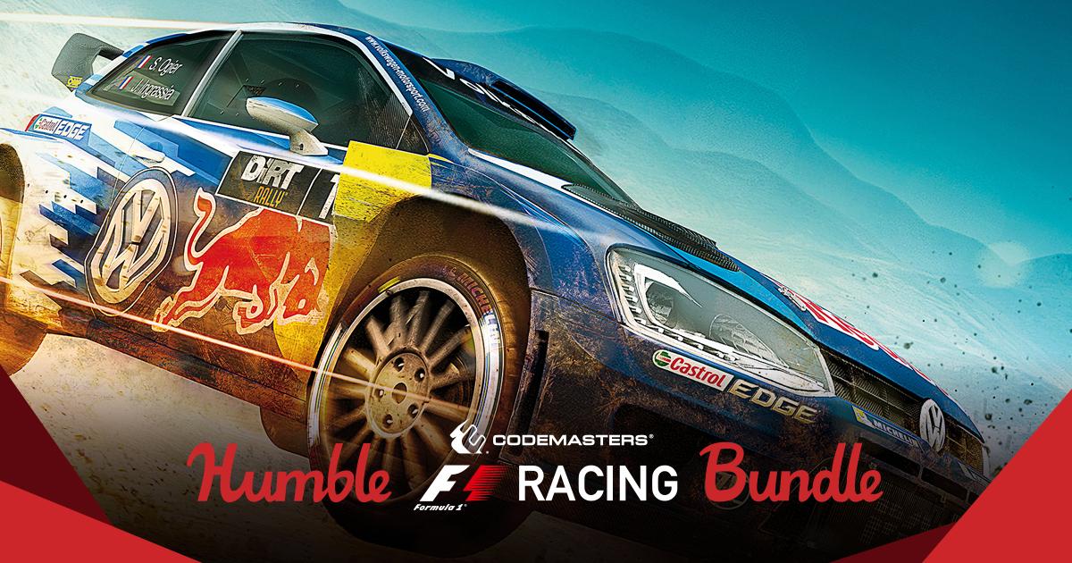 Codemasters Racing Game Bundle 2017 £0.81 @ Humble Bundle