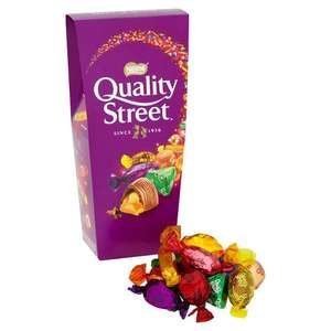 Nestle Quality Street Chocolate 265g, Half Price Was £3.00 Now £1.50 - Offer valid for delivery from 15/11/2017 until 05/12/2017 Online And Instore @ Tesco
