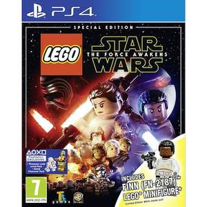 Lego Star Wars: The Force Awakens Special Edition PS4 £9.96 (£12.91 inc delivery) - Toys R Us