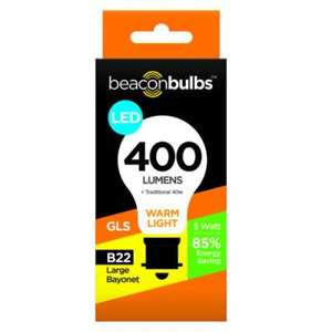 Beacon Bulbs LED bulbs - £1 - Poundstretcher and PoundStore