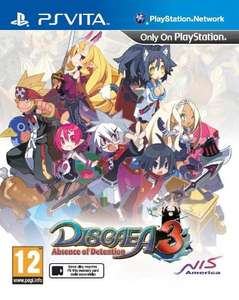 Disgaea 3: Absence of Detention (PS Vita) £14.99 (Prime) £16.98 (Non-prime) Delivered @ Amazon