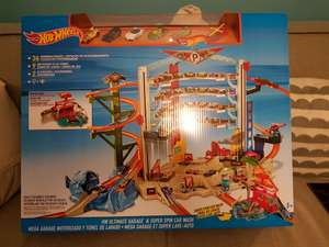Hotwheels ultimate garage playset and carwash £60 instore @ Asda
