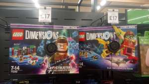 Lego dimensions story pack Tesco extra £17 instore
