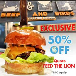 Beef & Birds with 50% Discount In Whitechapel