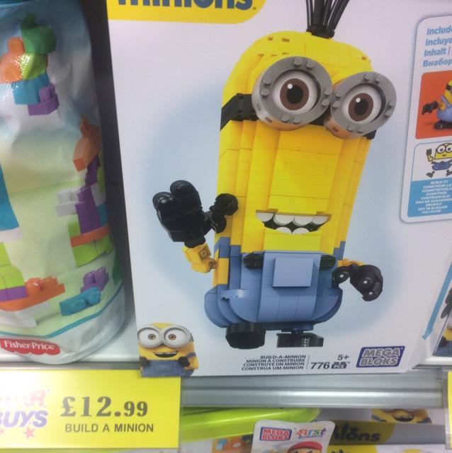 Mega Bloks Build-a-Minion Toy £12.99 @ Home Bargains