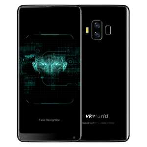 VKWorld S8 - 4GB Memory + 64GB Rom Android 7.0 5500mAh Battery £127.04 @ TomTop
