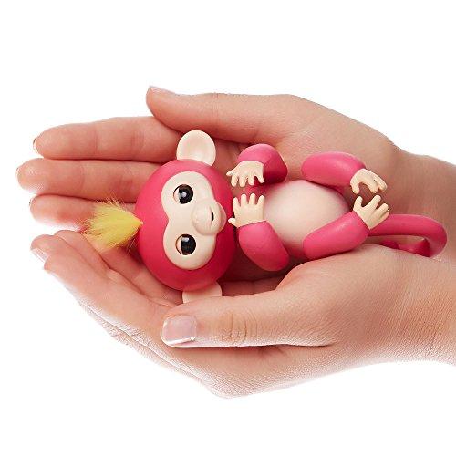 WowWee Fingerlings Pet Baby Monkey, Pink  In stock on December 14, 2017. @ Amazon from £14.99