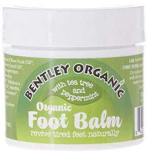 Bentley 27g Organic Foot Balm  Amazon (also S&S) £2.13 Add On @ Amazon