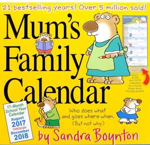 Mum's Family Calendar 2018 Amazon Prime £6.41