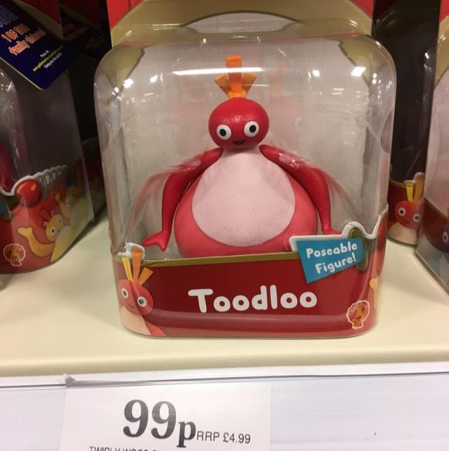 Twirlywoo's figures 99p homebargains