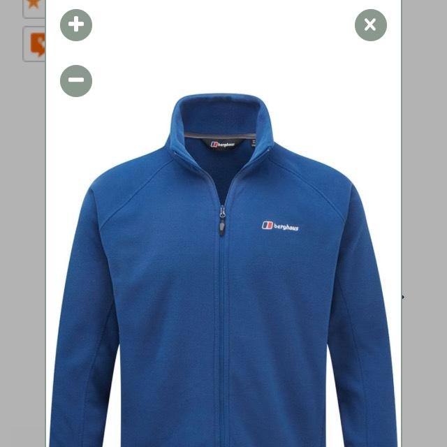 Berghaus Mens Rossett Micro Full Zip Jacket £35 @ Cotswold Outdoors